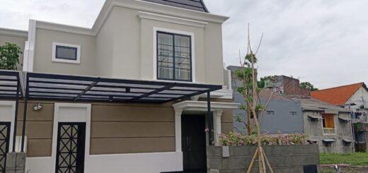 Tampak Depan, Type Cayman, Pinewood, Grand Kenjeran, Surabaya