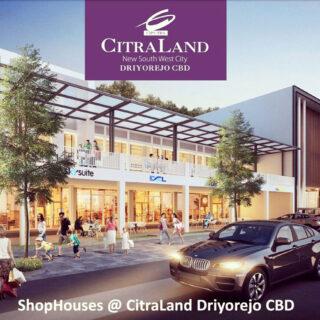 Dijual Ruko Komersial Citraland NSW