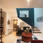 Living Room 1, Rumah Farmington di Boulevard perumahan Grand Harvest, Surabaya