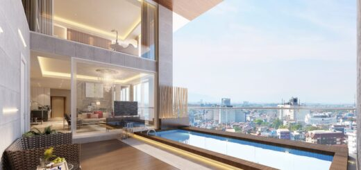 Private Infinite Pool Deck, VOILA Apartemen, SuperPenthouse, Ciputra World Mall, Surabaya