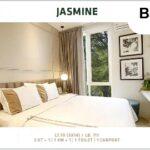 Ruang Tidur, Type Jasmine, SpringVille Residence, Kalirungkut MERR, Surabaya