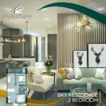 Unit 2 Bedroom, Sky Residence, Apartemen Mewah di Atas Ciputra World Mall, Surabaya