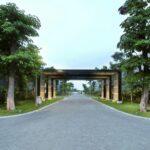Gate Perumahan, Oakwood Park, Citraland Utama, Surabaya