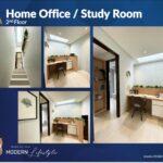 Home Office / Study Room, Type Viola, Oakwood Park, Citraland Utama, Surabaya