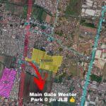 Peta Lokasi, Perumahan Mulai 300juta-an, Wester Park, Nol Jalan Lingkar Barat Sidoarjo