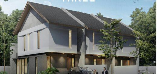 Rumah Modern Minimalis Tropical, Thre3, Babatan Pantai, Kenjeran, Surabaya