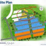 Site Plan, Type Viola, Oakwood Park, Citraland Utama, Surabaya
