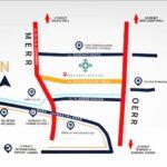 Peta Lokasi Perumahan Beverly Avenue, Rumah Minimalis Hanya 850juta Saja, MERR, Gunung Anyar, Surabaya